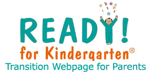 Kindergarten transition webpage for parents